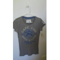 AUTHENTIC AEROPOSTALE  SHIRT FOR WOMEN ....GRAY